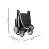 Duo City Mini2 4 ruote Opulent Black/Opulent Black